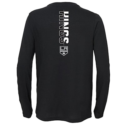 (Adidas Deliver A Hit Long Sleeve Tee - Los Angeles Kings - Youth)