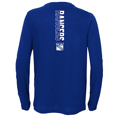 (Adidas Deliver A Hit Long Sleeve Tee - New York Rangers - Youth)