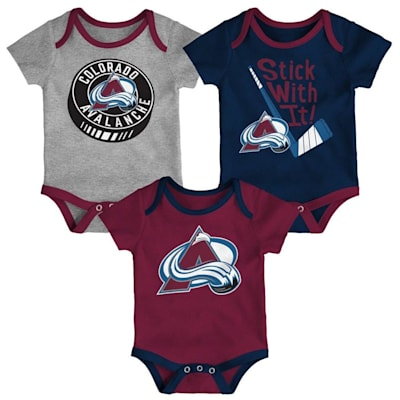 (Adidas Colorado Avalanche Cuddle and Play 3-Pack Set - Newborn)