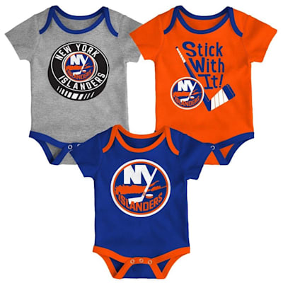 (Adidas NY Islanders Cuddle and Play 3-Pack Set - Infant)