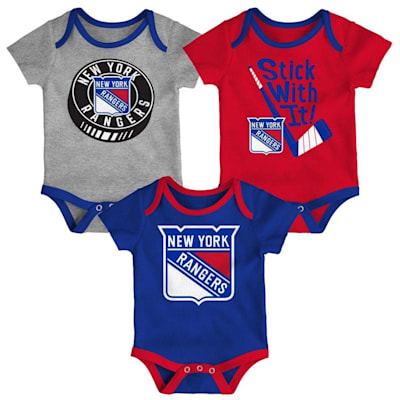 (Adidas NY Rangers Cuddle and Play 3-Pack Set - Newborn)