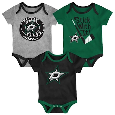 (Adidas Dallas Stars Cuddle and Play 3-Pack Set - Newborn)