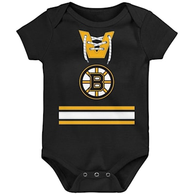 (Adidas Hockey Pro Onesie - Boston Bruins - Newborn)