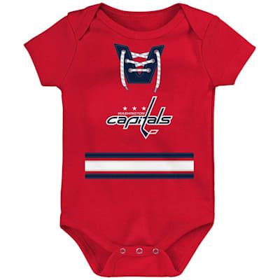 (Adidas Hockey Pro Onesie Washington Capitals - Newborn)