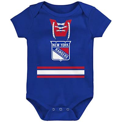 (Adidas Hockey Pro Onesie New York Rangers - Newborn)