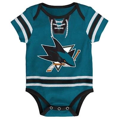 (Adidas Hockey Pro Onesie San Jose Sharks - Newborn)