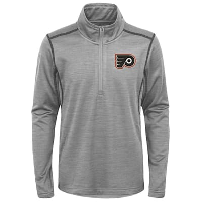 (Adidas Philadelphia Flyers Back to the Arena 1/4 Zip - Youth)