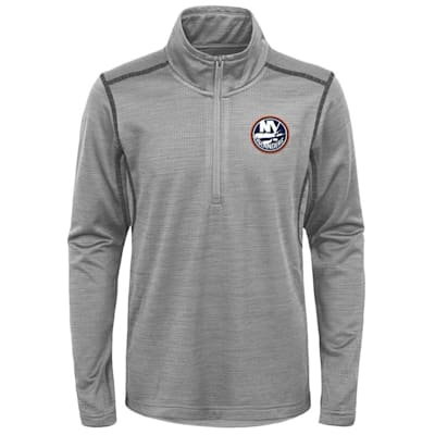 (Adidas NY Islanders Back to the Arena 1/4 Zip - Youth)