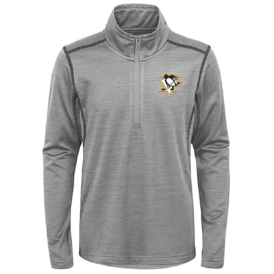 (Adidas Pittsburgh Penguins Back to the Arena 1/4 Zip - Youth)