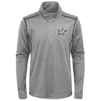 (Adidas Dallas Stars Back to the Arena 1/4 Zip - Youth)