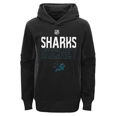 (Adidas Chase the Puck Hoodie San Jose Sharks - Youth)
