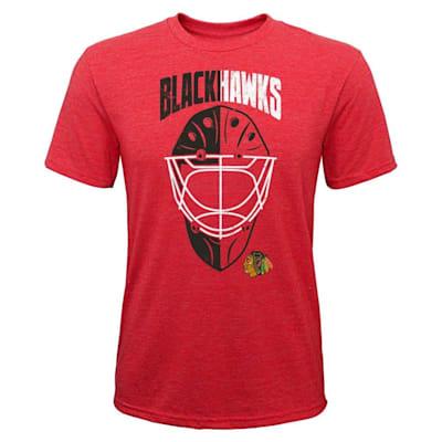(Adidas Mask Made Tee Chicago Blackhawks - Youth)