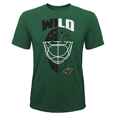 (Adidas Mask Made Tee Minnesota Wild - Youth)