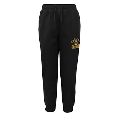 (Adidas Boston Bruins Pro Game Sweatpants - Youth)
