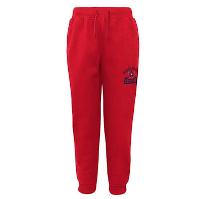 (Adidas Washington Capitals Pro Game Sweatpants - Youth)