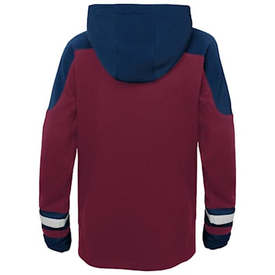 (Adidas Ageless Must Have Hoodie - Colorado Avalanche - Youth)