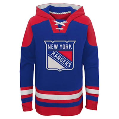 (Adidas Ageless Must Have Hoodie - New York Rangers - Youth)