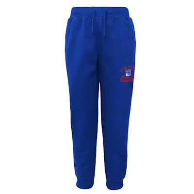 (Adidas New York Rangers Pro Game Sweatpants - Youth)