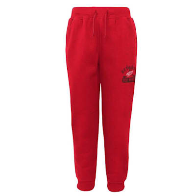 (Adidas Detroit Red Wings Pro Game Sweatpants - Youth)
