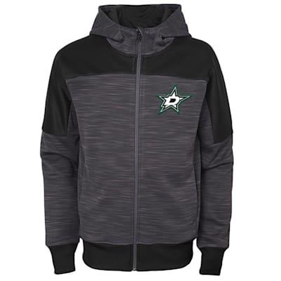 (Adidas Dallas Stars Sleek Essentials Full Zip - Youth)
