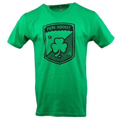 Front (Pure Hockey 2019 St. Paddy's Day Short Sleeve Tee Shirt - Adult)