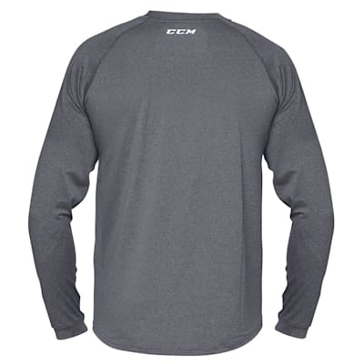 Back (CCM Performance Loose Fit Long Sleeve Base Layer - Mens)