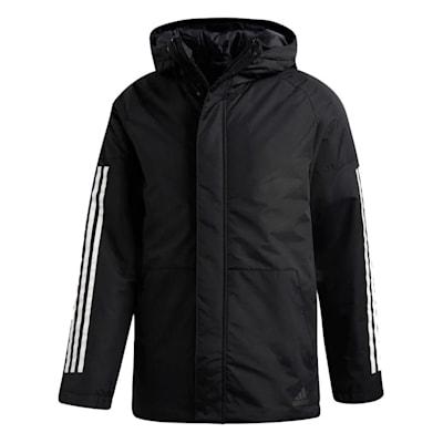 (Adidas XPLORIC 3-Stripe Jacket - Black - Mens)