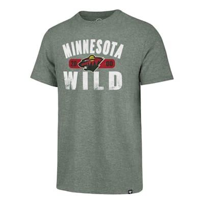 (47 Brand Milestone Match Tee Minnesota Wild - Adult)