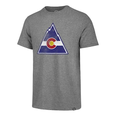 (47 Brand Match Tri-Blend Tee Colorado Rockies - Adult)