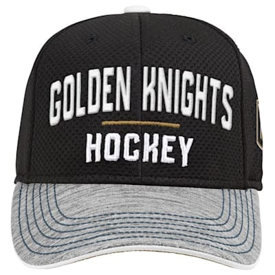 (Adidas Vegas Golden Knights Blueline Structured Adjustable Hat - Youth)