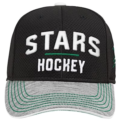 (Adidas Dallas Stars Blueline Structured Adjustable Hat - Youth)