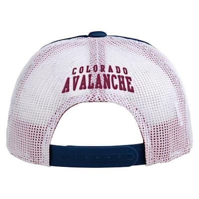 (Adidas Legacy Meshback Hat Colorado Avalanche - Youth)