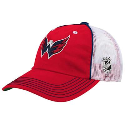 (Adidas Legacy Meshback Hat Washington Capitals - Youth)