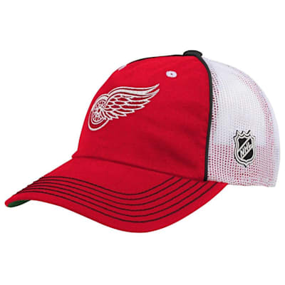 (Adidas Legacy Meshback Hat Detroit Red Wings - Youth)