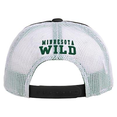 (Adidas Legacy Meshback Hat Minnesota Wild - Youth)