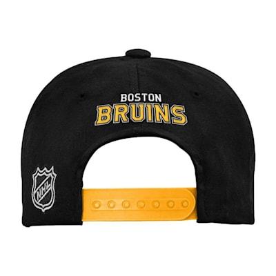 (Adidas 2 Tone Flat Brim Hat Boston Bruins - Youth)