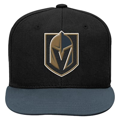 (Adidas 2 Tone Flat Brim Hat Vegas Golden Knights)