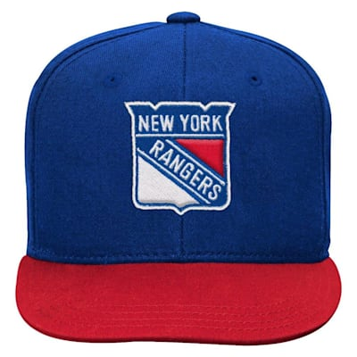 (Adidas 2 Tone Flat Brim Hat NY Rangers - Youth)