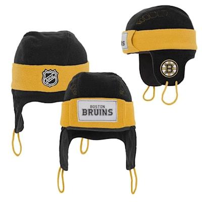 (Adidas Boston Bruins Hockey Helmet Hat - Youth)