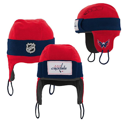 (Adidas Washington Capitals Hockey Helmet Hat - Youth)