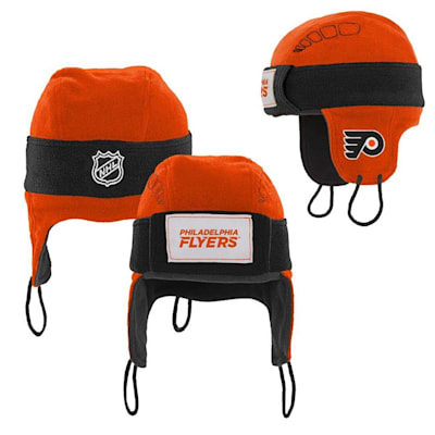 (Adidas Philadelphia Flyers Hockey Helmet Hat - Youth)