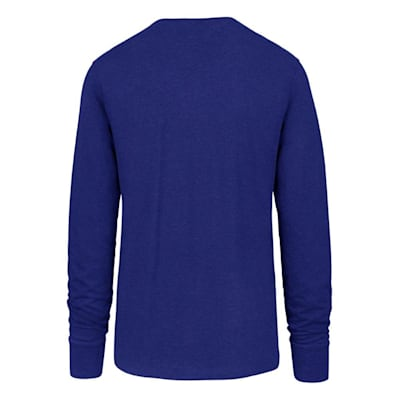 (47 Brand St. Louis Blues Blockout Long Sleeve Tee - Adult)