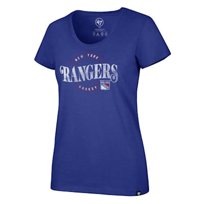 (47 Brand Wave Club Scoop Tee NY Rangers - Womens)