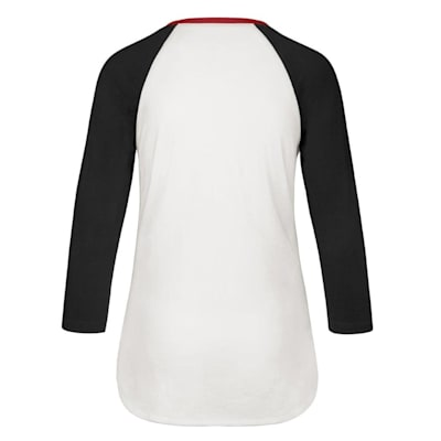 (47 Brand Hollow Stack Raglan Tee Chicago Blackhawks - Womens)