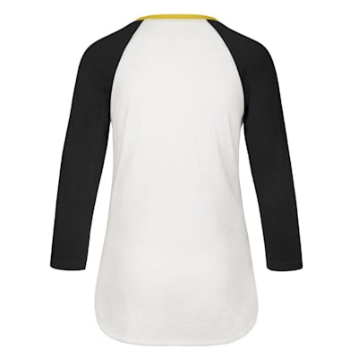 (47 Brand Hollow Stack Raglan Tee Boston Bruins - Womens)