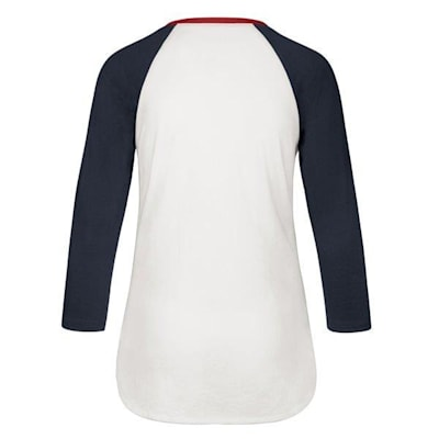 (47 Brand Hollow Stack Raglan Tee Washing Capitals - Womens)
