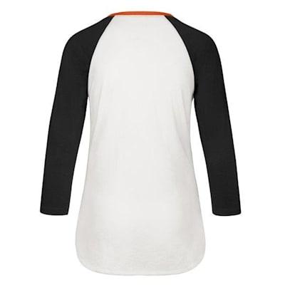 (47 Brand Hollow Stack Raglan Tee Philadelphia Flyers - Womens)