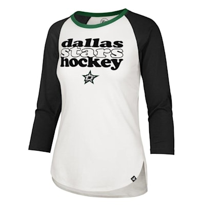 (47 Brand Hollow Stack Raglan Tee Dallas Stars - Womens)