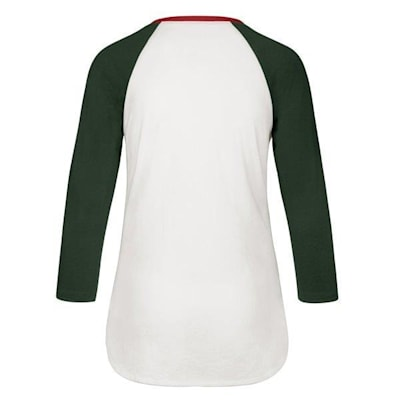 (47 Brand Hollow Stack Raglan Tee Minnesota Wild - Womens)
