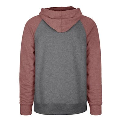 (47 Brand Colorado Avalanche Match Raglan Hoody - Adult)